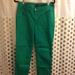 NYD Green Skinny Jeans 8 EUC